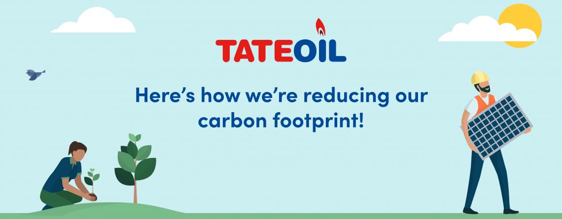 Tate Oil reduce carbon footprint
