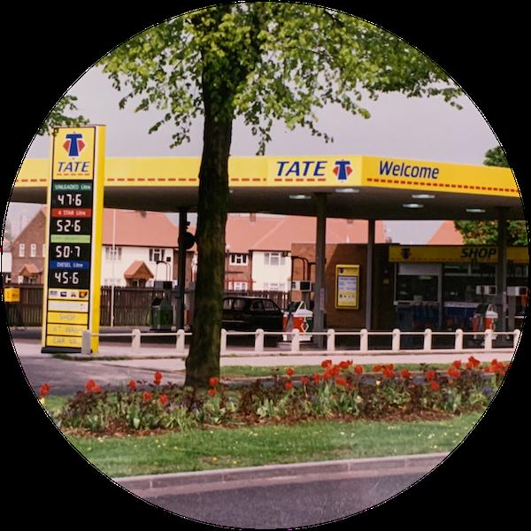 Tate Oil petrol station history retro